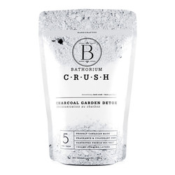 Bathorium CRUSH Charcoal Garden Detox, 120g/4.2 oz