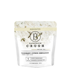 Bathorium CRUSH Rosemary Citrus Emulsion, 120g/4.2 oz