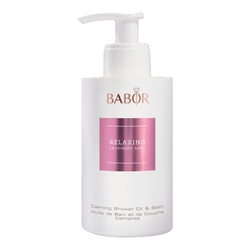 Babor Relaxing Lavender Mint - Calming Shower Oil and Bath, 200ml/6.8 fl oz