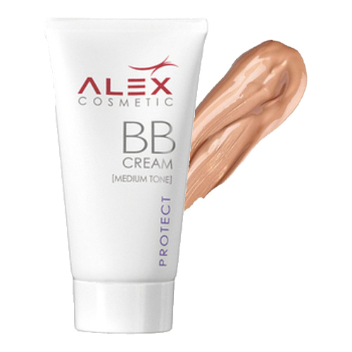 Alex Cosmetics BB Cream Tube - Medium Tone, 30ml/1 fl oz