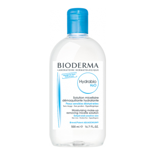 Bioderma Hydrabio H2O, 500ml/16.9 fl oz