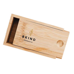 BKIND Bamboo Case For Shampoo And Conditioner Bar, 1 piece