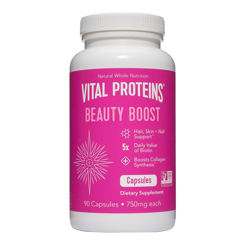Vital Proteins Beauty Boost Capsules, 90 x 750 mg