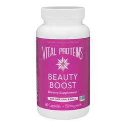 Vital Proteins Beauty Boost Capsules, 90 x 750 mg