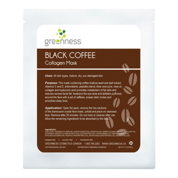 Black Coffee Collagen Mask