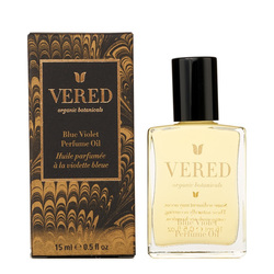 Vered Organic Botanicals Blue Violet Perfume Oil, 15ml/0.5 fl oz