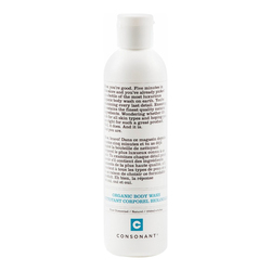 Consonant Body Wash - Pure Unscented, 99ml/3.3 fl oz