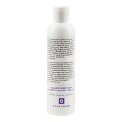 Consonant Body Wash  Scent 002 - Dark Peppermint White Sage, 250ml/8.5 fl oz