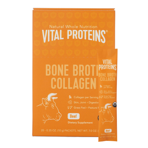 Vital Proteins Bone Broth Collagen - Beef, 20 x 10g/0.4 oz