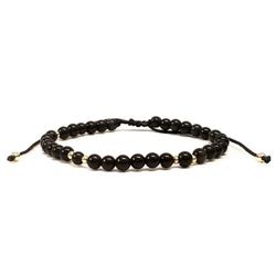 Bracelet - Black Obsidian
