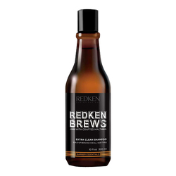 Redken Brews Extra Clean Shampoo, 300ml/10.1 fl oz