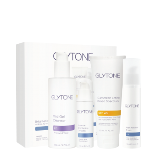 Glytone Brightening System Normal to Oily Skin, 1 set