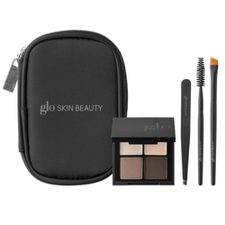 Glo Skin Beauty Brow Collection - Brown, 1 set