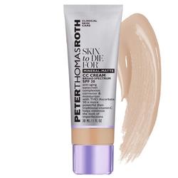 Peter Thomas Roth Skin To Die For  Mineral-Matte CC Cream Broad Spectrum SPF 30 - Light, 30ml/1 fl oz