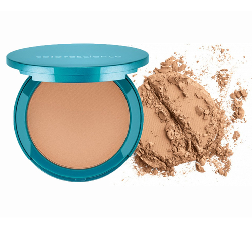 Colorescience Natural Finish Pressed Foundation SPF 20 - Medium Bisque (All Dolled Up or California Girl), 12g/0.42 oz