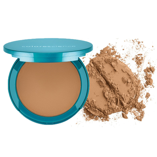 Colorescience Natural Finish Pressed Foundation SPF 20 - Tan Golden (Girl from Ipanema), 12g/0.42 oz