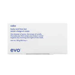 Evo Cake Body and Face Bar, 310g/10.93 oz