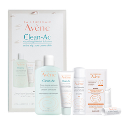 Avene Clean-Ac Nourishing Blemish Solutions, 1 set