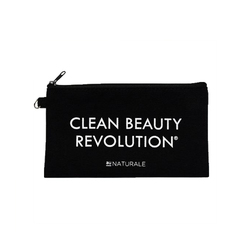 Au Naturale Cosmetics Clean Beauty Revolution Makeup Pouch, 1 piece