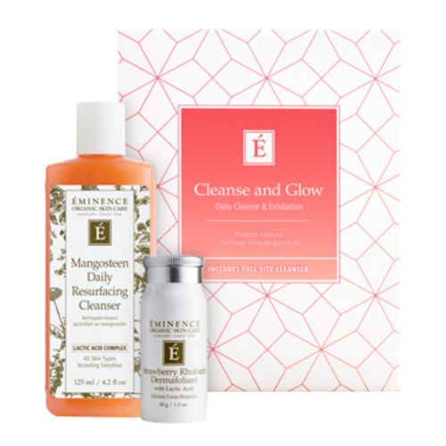 Eminence Organics Cleanse and Glow Gift Set, 1 set