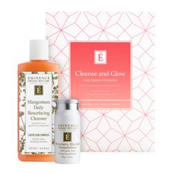 Eminence Organics Cleanse and Glow Gift Set, 1 set