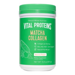 Collagen Peptides Matcha (Peach)