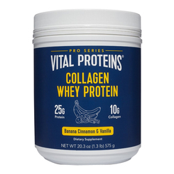 Collagen Whey - Banana, Cinnamon, Vanilla