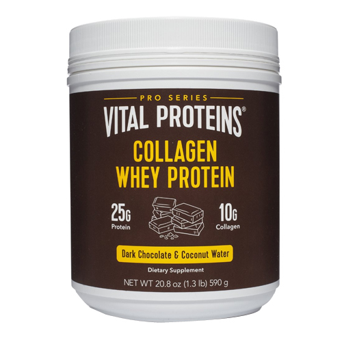 Vital Proteins Collagen Whey - Dark Chocolate and Coconut Water, 590g/20.8 oz