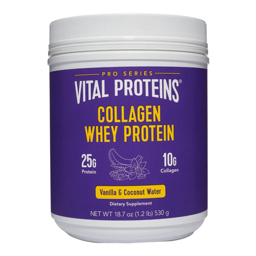 Vital Proteins Collagen Whey - Vanilla and Coconut Water, 530g/18.7 oz
