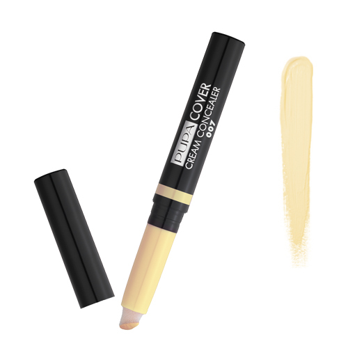 Pupa Cover Cream Concealer - 007 Yellow, 1 pieces