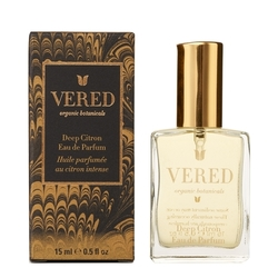 Vered Organic Botanicals Deep Citron Eau de Parfum, 15ml/0.5 fl oz