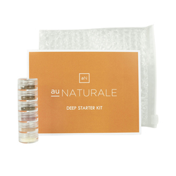 Au Naturale Cosmetics Deep Starter Kit, 1 set