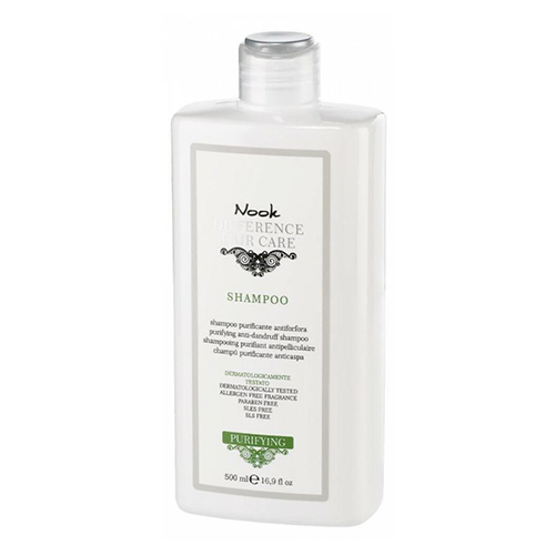 Nook  Difference Hair Care Purifying Anti-Dandruff Shampoo, 500ml/16.9 fl oz