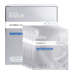 Babor DOCTOR BABOR HYDRO RX 3D Hydro Gel Face Mask (4 Pack), 1 set