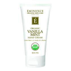Eminence Organics Vanilla Mint Hand Cream, 60ml/2 fl oz