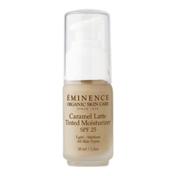 Eminence Organics Caramel Latte Tinted Moisturizer SPF 25 (Light to Medium), 35ml/1.2 fl oz