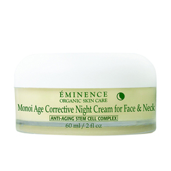 Eminence Organics Monoi Age Corrective Night Cream For Face and Neck, 60ml/2 fl oz