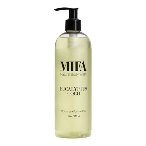 MIFA and Co EUCALYPTUS COCO Body Wash, 473ml/16 fl oz
