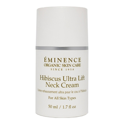 Eminence Organics Hibiscus Ultra Lift Neck Cream, 50ml/1.7 fl oz