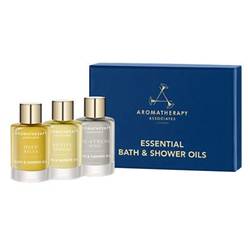 Essential Bath and Shower Oils (Relax, De-stress, Revive) Set