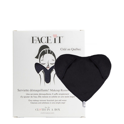 Cloth In A Box FaceIt Ladies Black, 1 piece