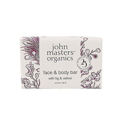 Face and Body Bar with Fig and Vetiver