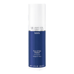 Men Eyes and Face Concentrate