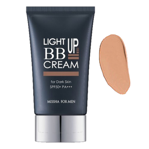 MISSHA For Men Light Up BB Cream - For Dark Skin, 45ml/1.5 fl oz