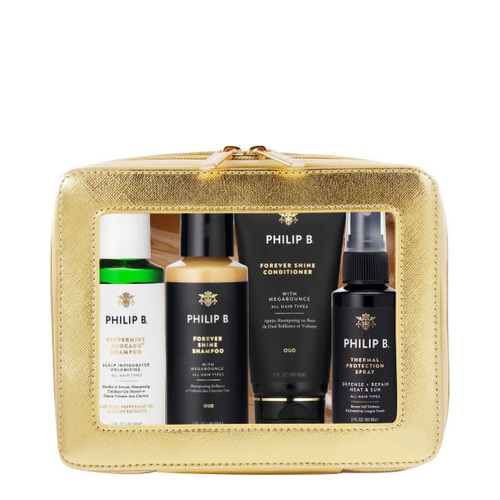 Philip B Botanical Forever Shine Deluxe Travel Collection, 1 set