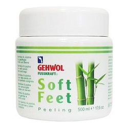 Gehwol Fusskraft Soft Feet Scrub, 500ml/16.9 fl oz