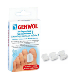 Gehwol Gehwol Toe Separators G Polymer  Medium, 3 pieces