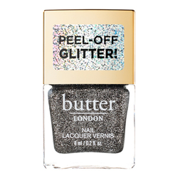 butter LONDON Glazen Peel Off Glitter Lacquer - Black Magic, 6ml/0.2 fl oz