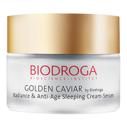 Golden Caviar - Radiance and Anti-Age Sleeping Cream-Serum