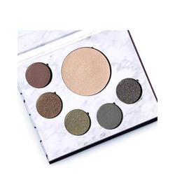 FitGlow Beauty Green Beauty Glam Palette, 1 set